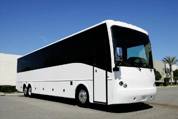50 passenger charter bus rental Council Bluffs